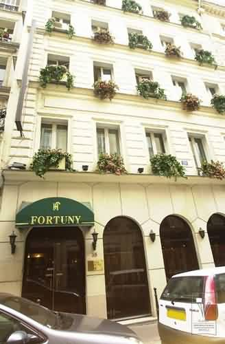 Hotel fortuny madeleine paris france for Hotel chaine paris